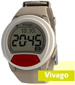 Vivago CARE segélyhívó karóra piros jelzőgombbal